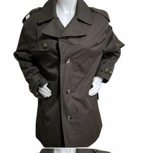 Women London Fog olive Jacket..